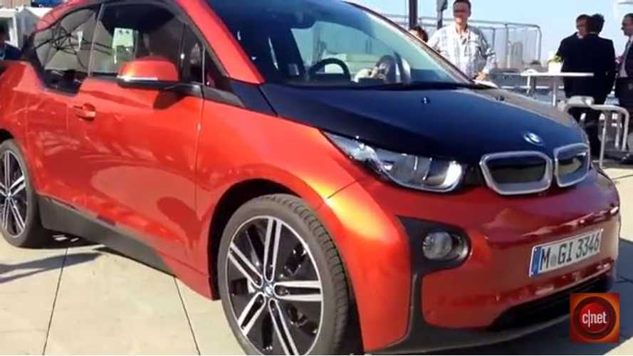 Videos: CNET Captures the Live BMW i3 Reveal in NYC