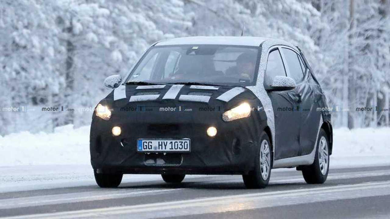 2020 Hyundai i10 spy photo