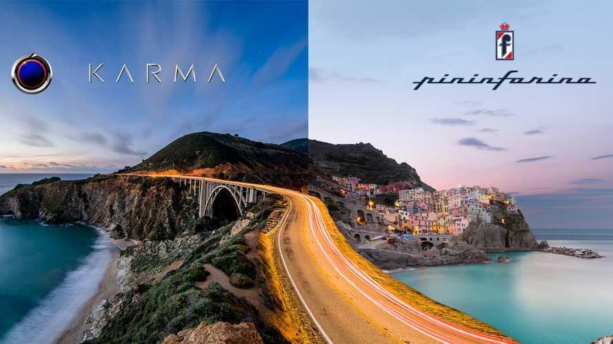 Pininfarina, insieme a Karma per produrre elettriche di lusso