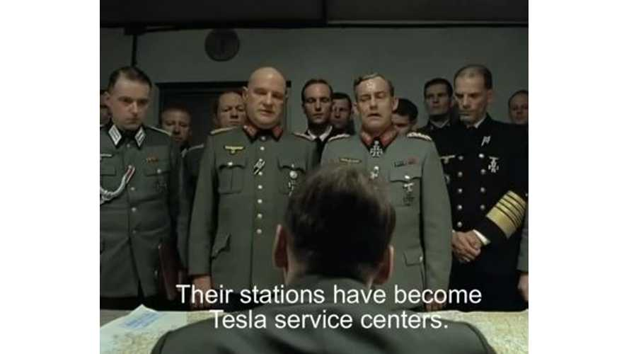 "Video: ""Downfall"" Parody - Tesla Model S Invasion of Germany"