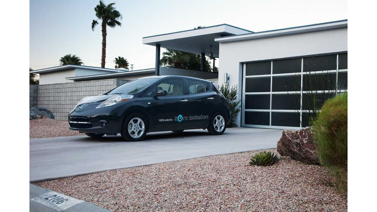 First Nissan LEAF in U.S. Passes 100,000 Miles