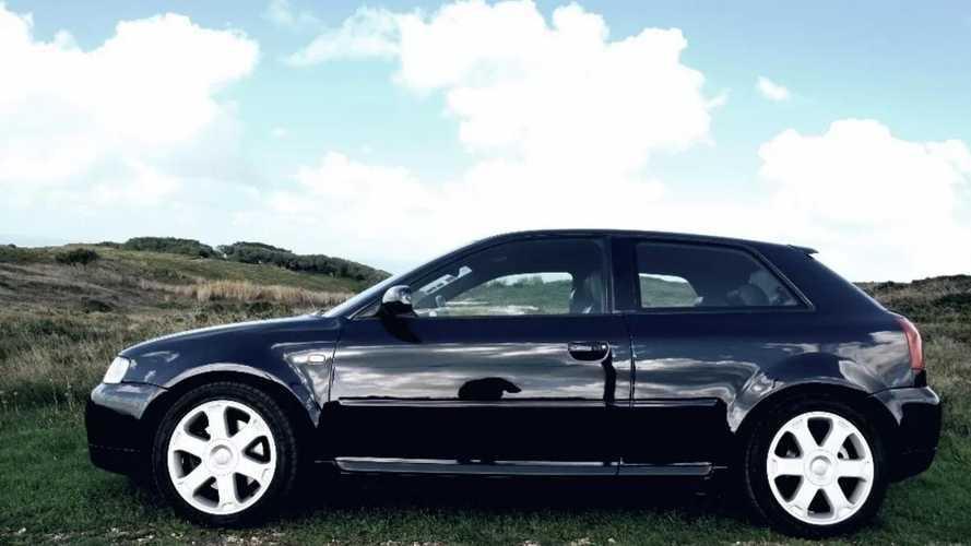Este Audi S3, el primer coche de Cristiano Ronaldo, está en venta