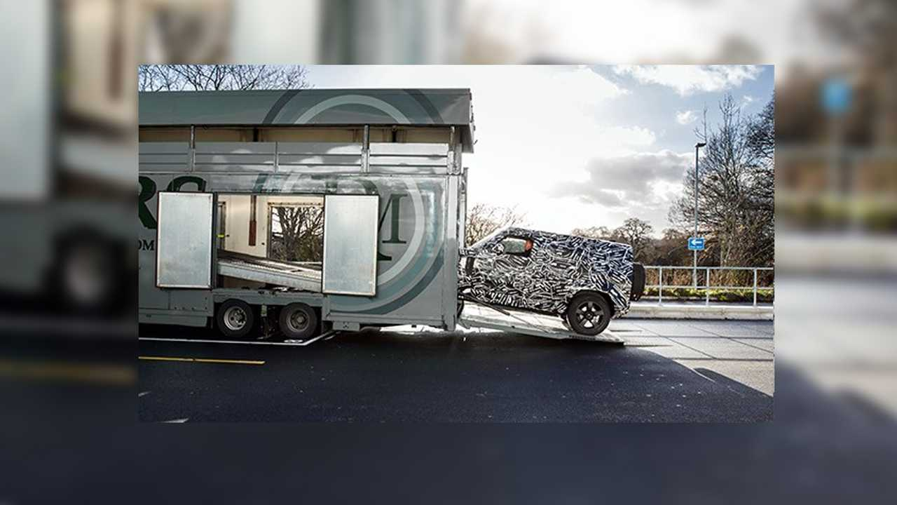 New Land Rover Defender Teaser