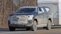 Cadillac Escalade Spy Photo