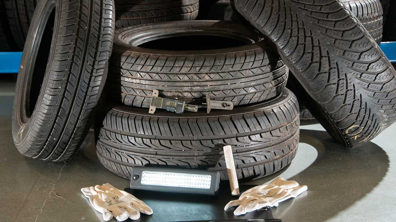 Part worn tyre inspections
