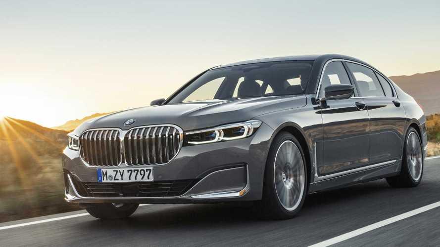 2019 BMW 7 Serisi geniş ızgara tasarımı ile karşımızda