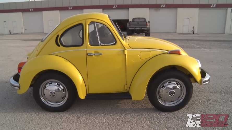 Shortened VW Beetle Looks Photoshopped, But It's The Real Deal