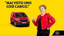 Opel Veicoli commerciali e Mara Maionchi