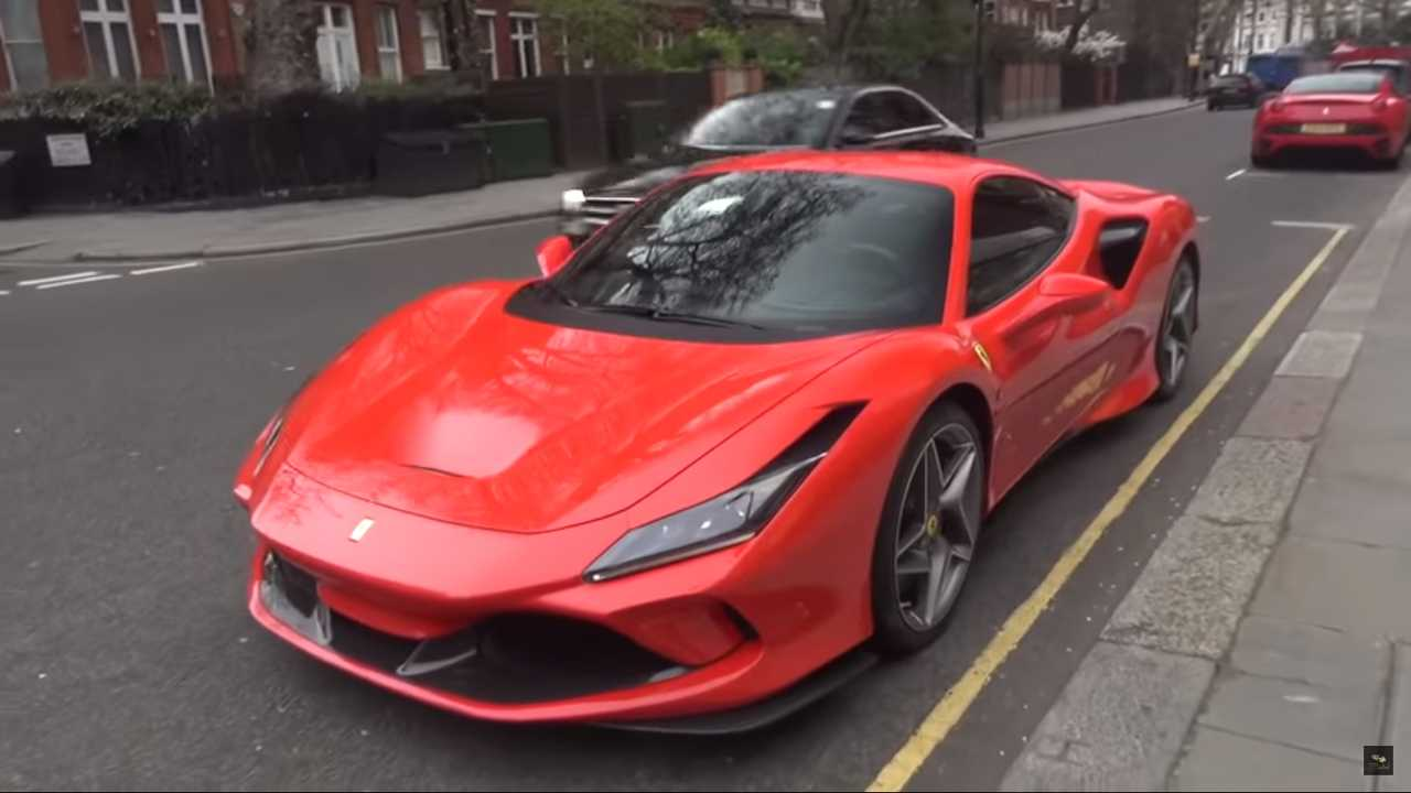 Ferrari F8 Tribute In London