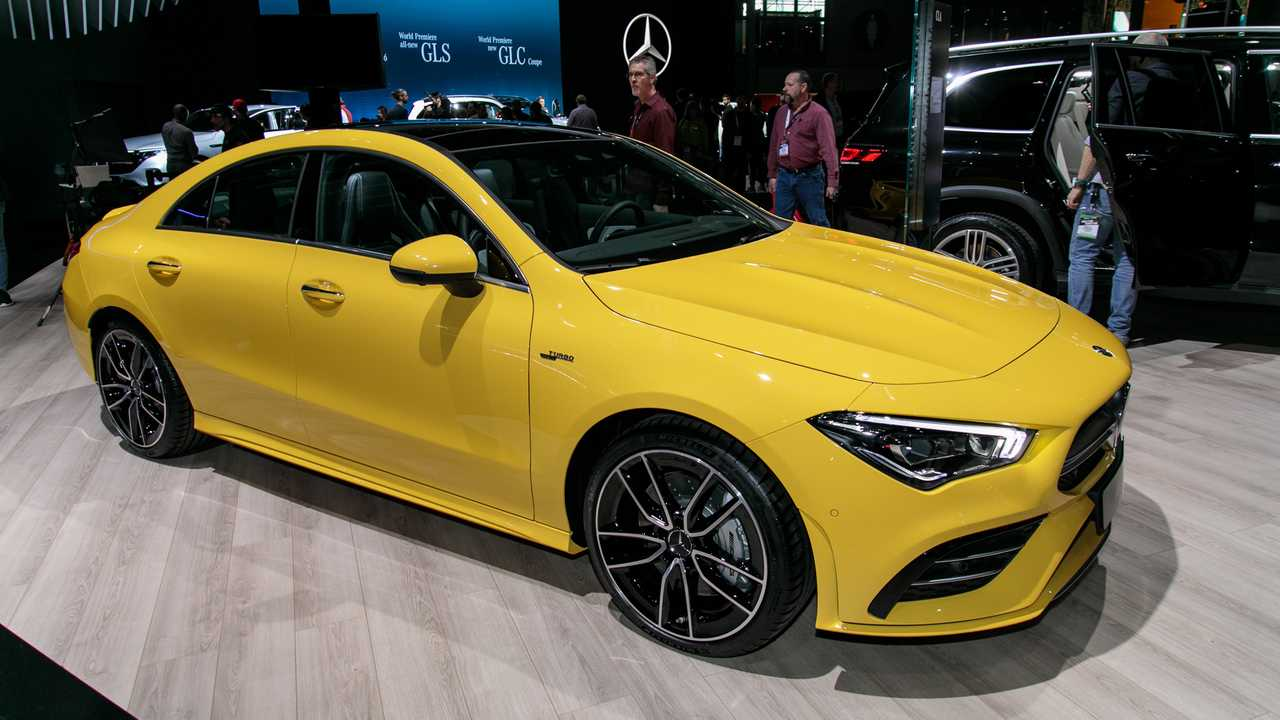2020 Mercedes-AMG CLA 35 Coupe Live Images