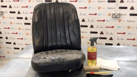 Make your classic leather seats clean again