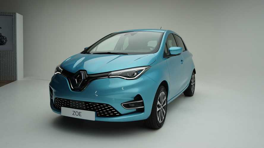 2020 Renault Zoe studio photos