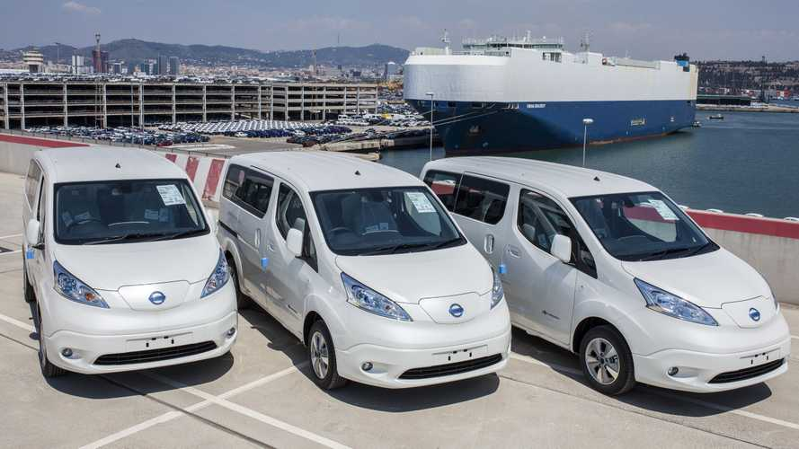 Nissan Received More Than 10,000 e-NV200 (40 kWh) Orders Since 2018