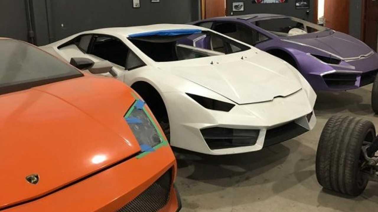Usine clandestine Ferrari et Lamborghini