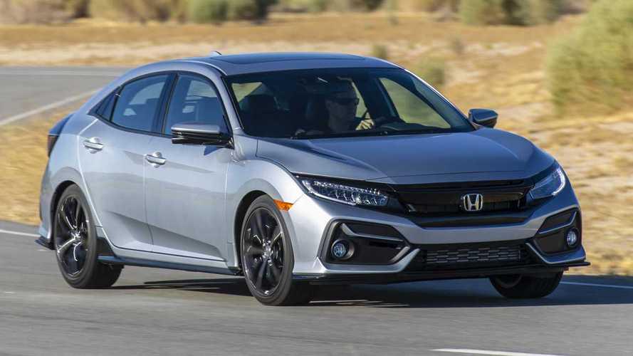 Honda Civic Hatchback 2020 actualizado levemente, cuesta un poco más