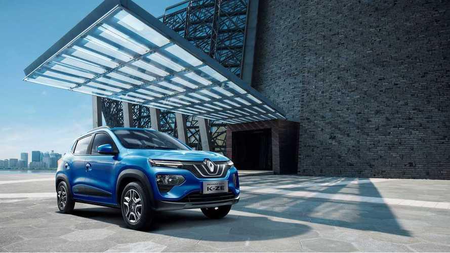 Renault City K-ZE, l'elettrica low cost, ma solo per la Cina