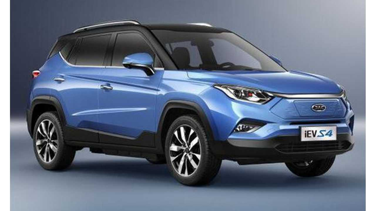 China's JAC Motors Reveals Plans For Several New EVs