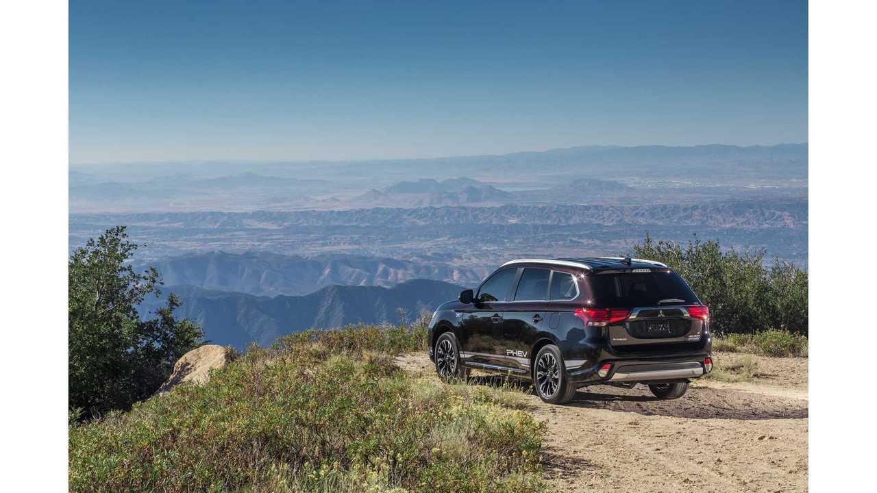 Mitsubishi Outlander PHEV Sales Hit 200,000