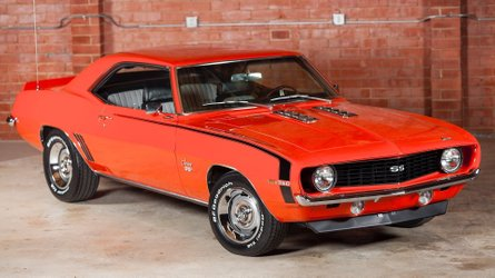 Knock knock who s there a 1969 chevrolet camaro ss