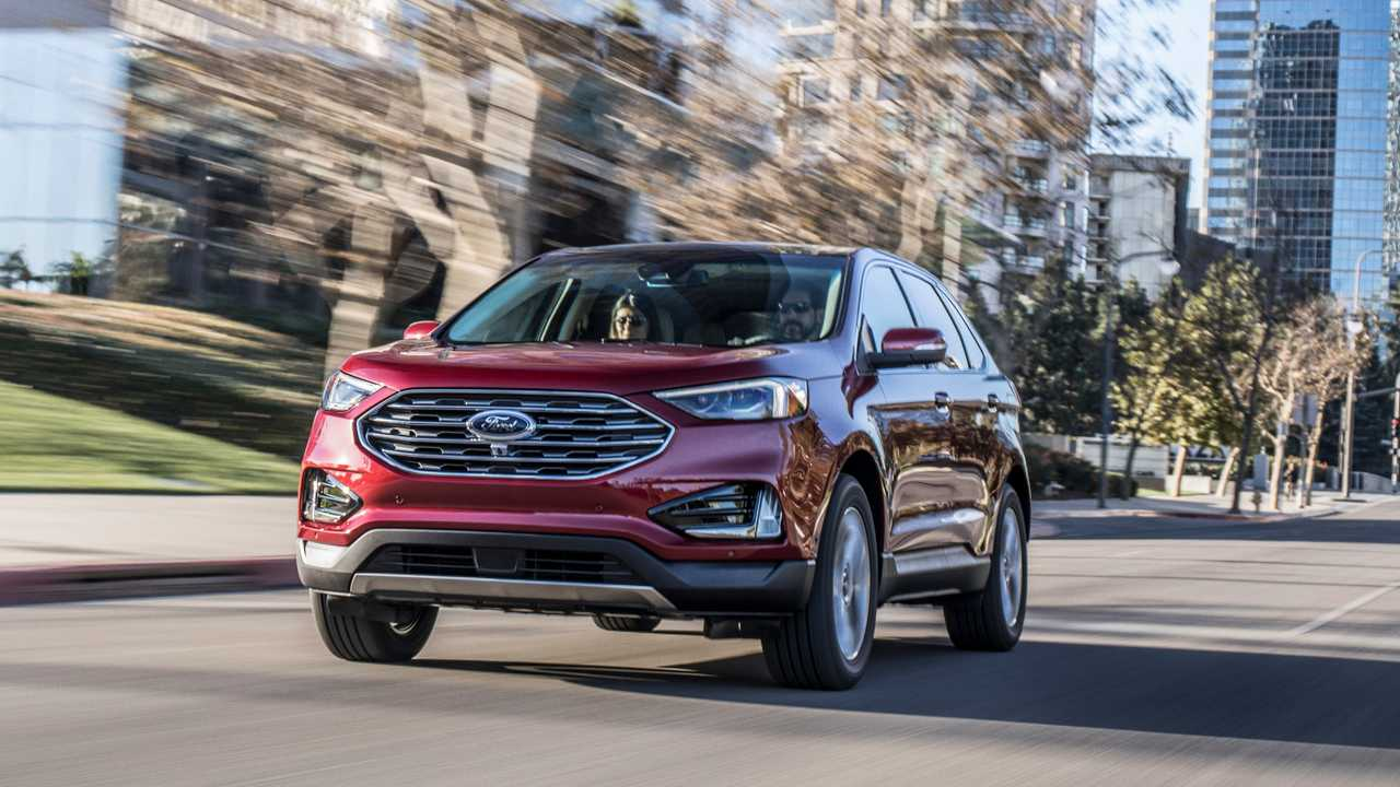 2. Ford Edge: 6.4 Percent