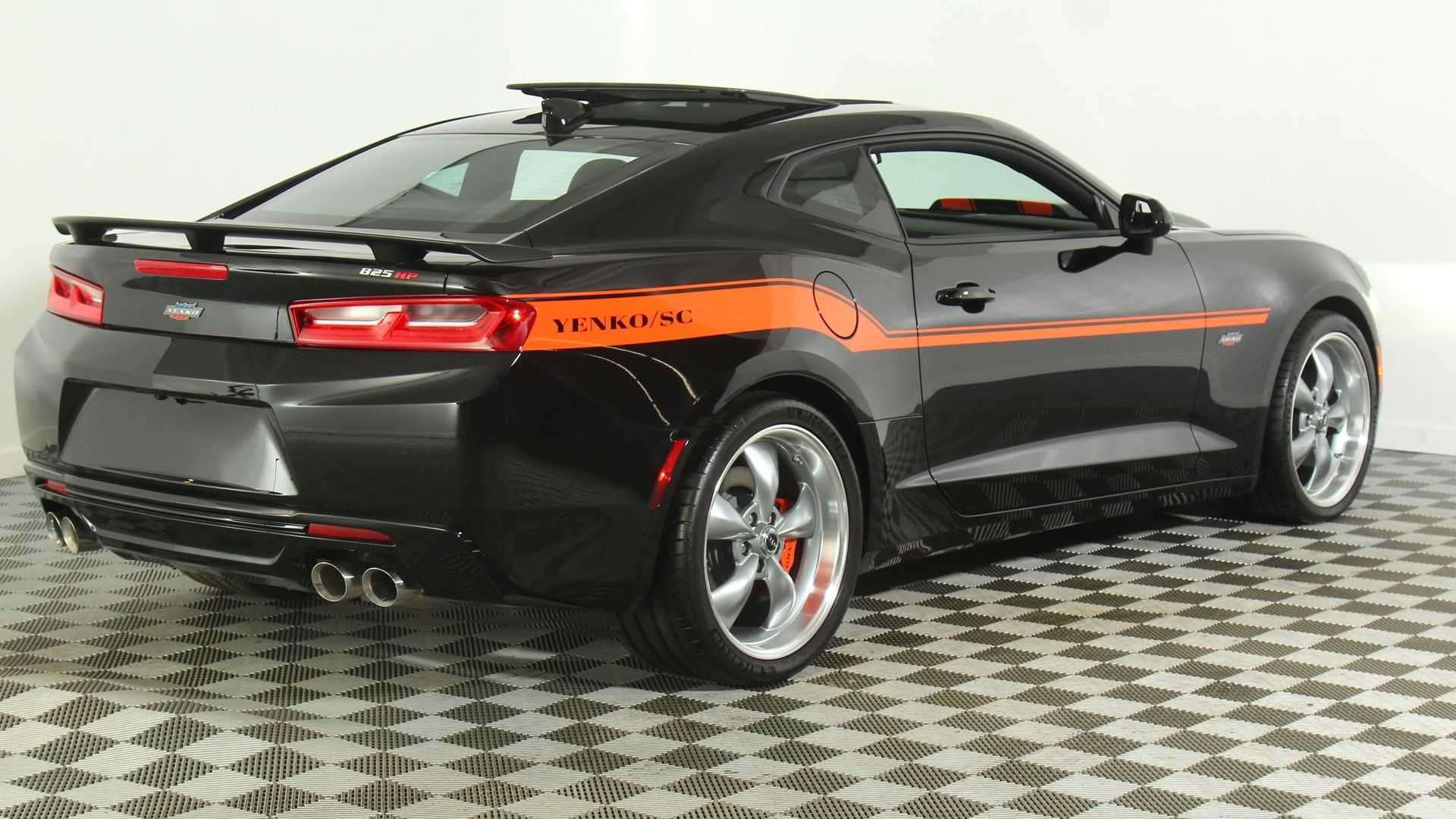 "[""Spanking Mustangs Is Easy And Fun With A 2018 Chevrolet YENKO Camaro""]"