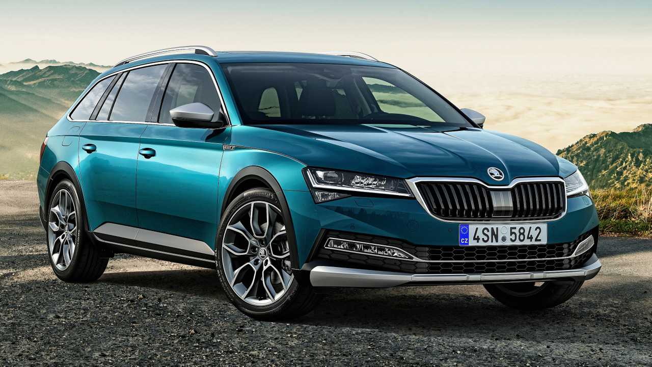 2020 Skoda Superb Scout