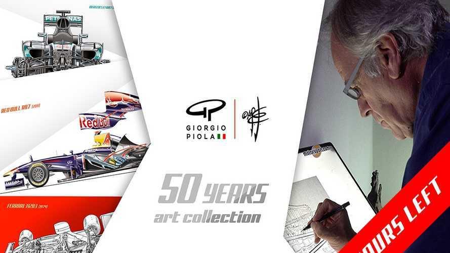 Solo quedan 48 horas para apoyar la campaña 'Colección 50 años' de Giorgio Piola en Kickstarter