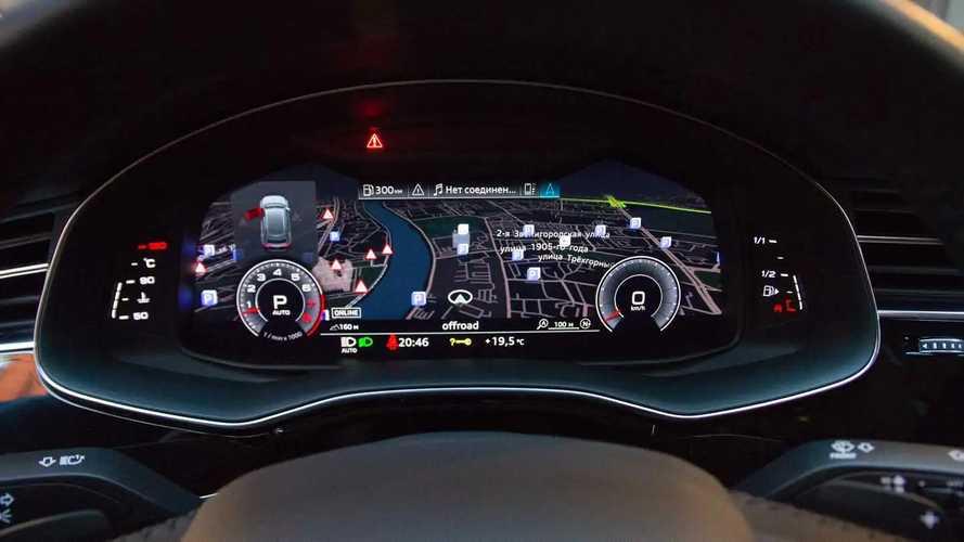 Audi Q8 виртуальный кокпит