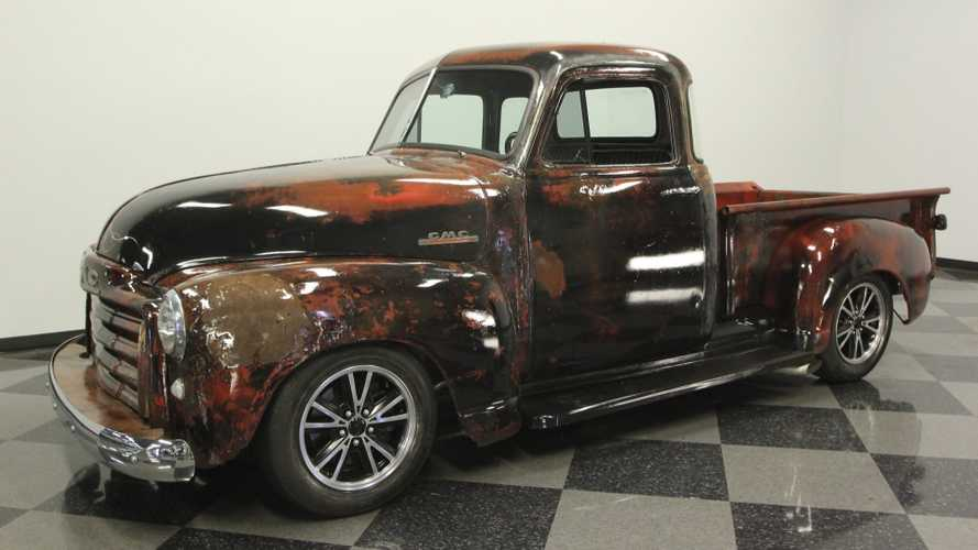 1952 GMC 3100 Truck Features Unique Patina