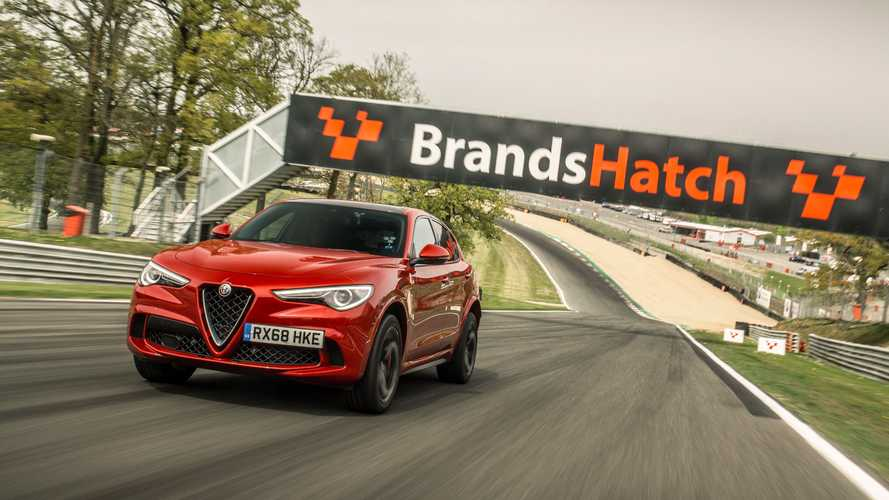 Alfa Romeo Stelvio SUV sets a trio of UK lap records