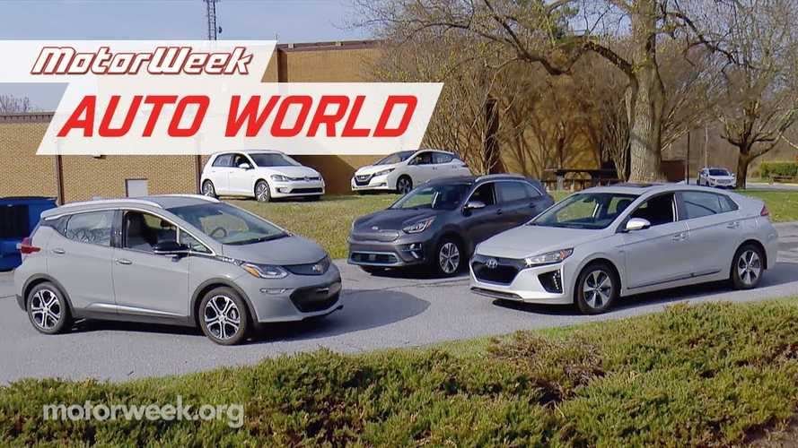 Motorweek Puts Bolt, Niro EV & LEAF Plus Through Road Trip Test