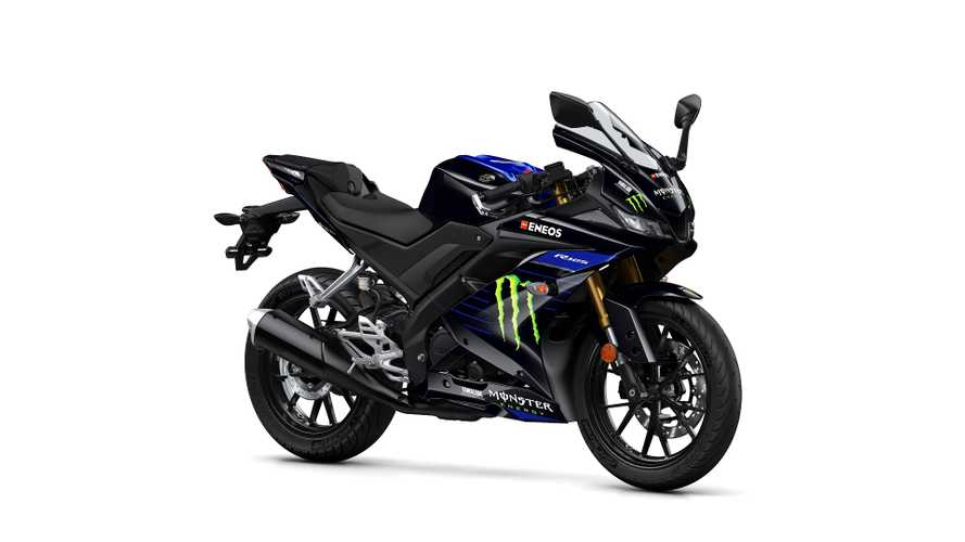 Yamaha: arriva la YZF-R125 Monster Energy 2019