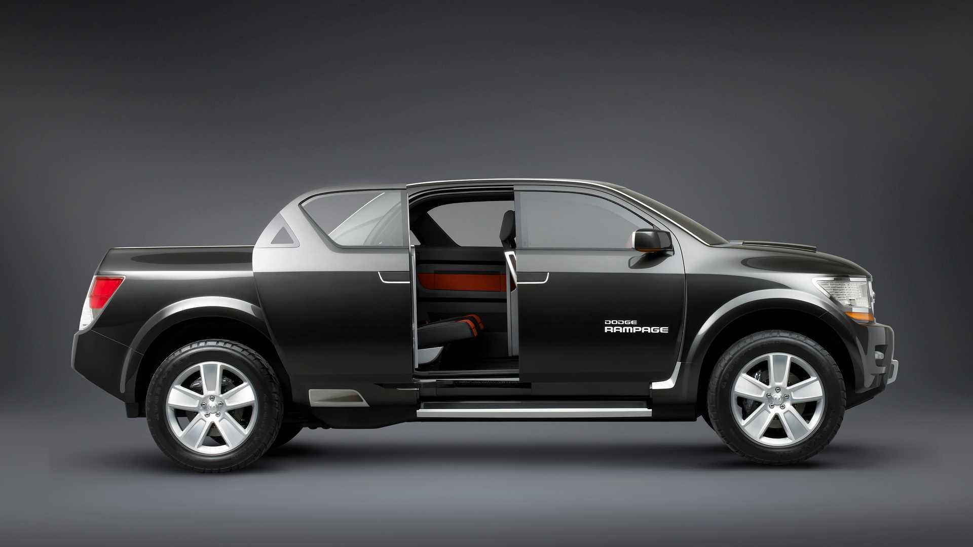 2006 Dodge Rampage Concept We Forgot