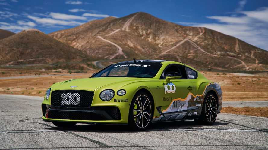 Bentley punta al record alla Pikes Peak