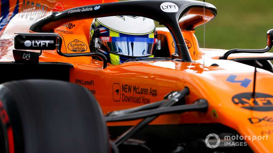 Norris: F1 a better fit after 'suffering' in more physical cars