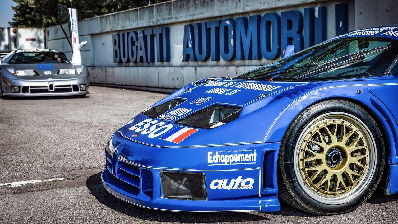 Bugatti EB110, la leggenda
