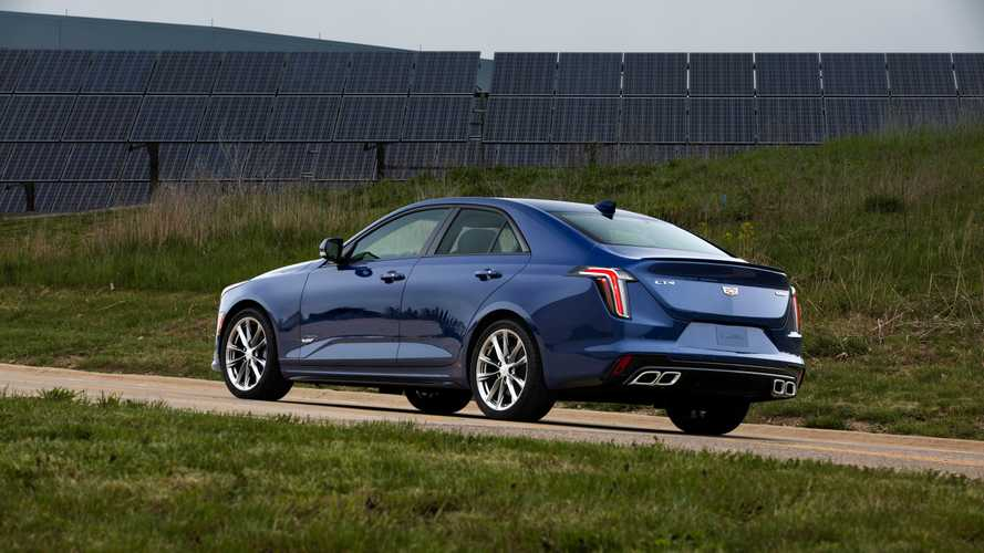 2020 Cadillac CT4-V 3 of 26 | Motor1.com Photos