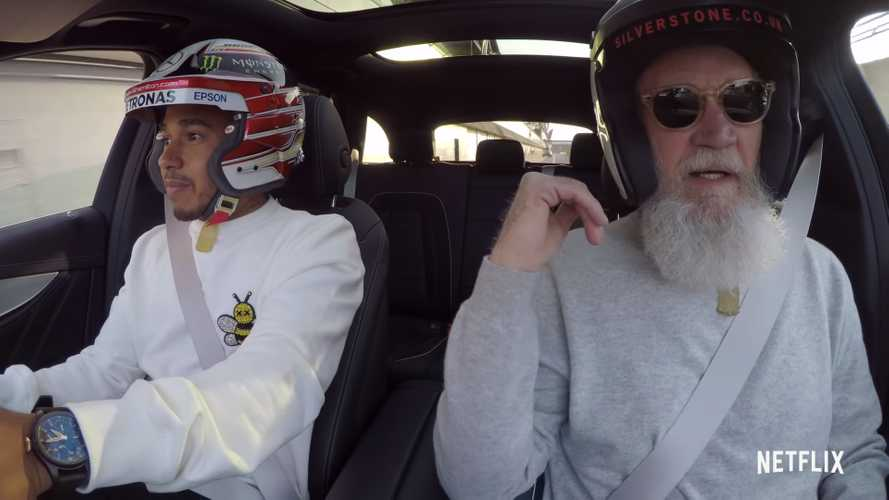 Watch F1 Champ Lewis Hamilton terrify David Letterman