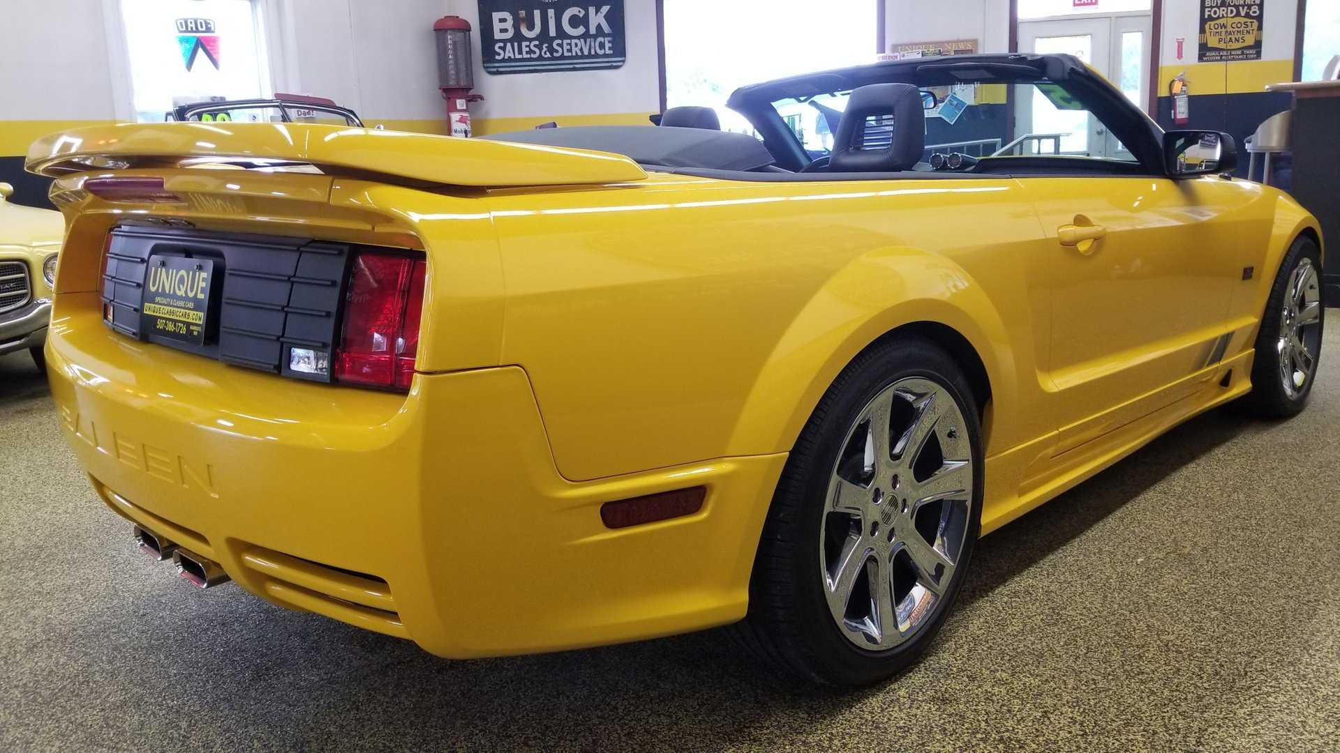 Near Delivery Mileage 2005 Saleen Mustang Is Insane Value