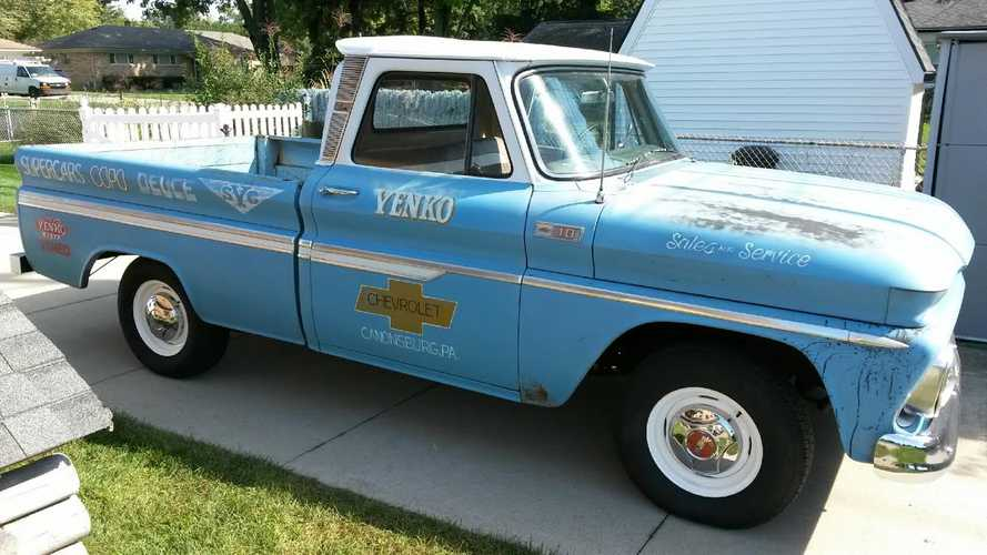 Replica Chevrolet C10 Yenko Parts Truck Is Retro Cool