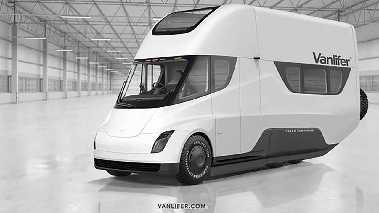 Tesla Semi-Home Motorhome