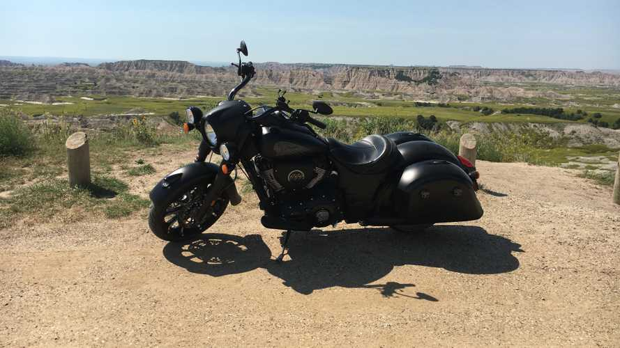 Quick Ride On The 2019 Indian Springfield Dark Horse