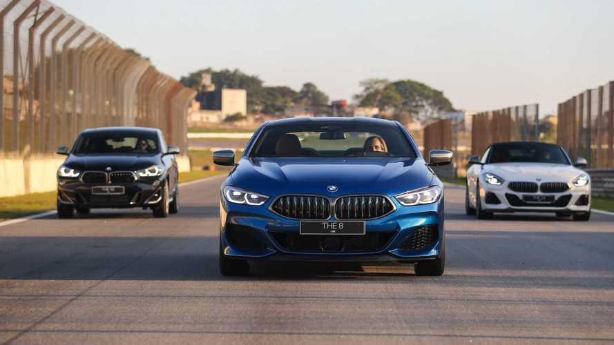 Pé embaixo: aceleramos os novos BMW Z4 M40i, X3 M, M850i e X2 M35i em Interlagos