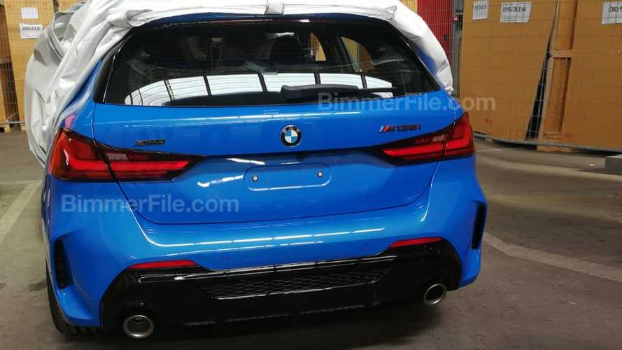 2020 BMW M135i xDrive partially leaked in revealing image