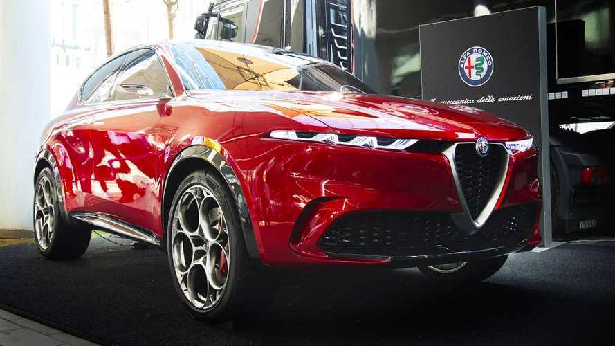 L'Alfa Romeo Tonale si può vedere dal vivo a Milano