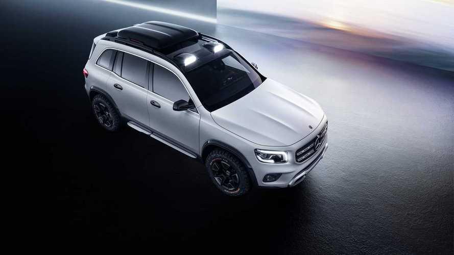 Le Mercedes GLB sera présenté le 10 juin prochain