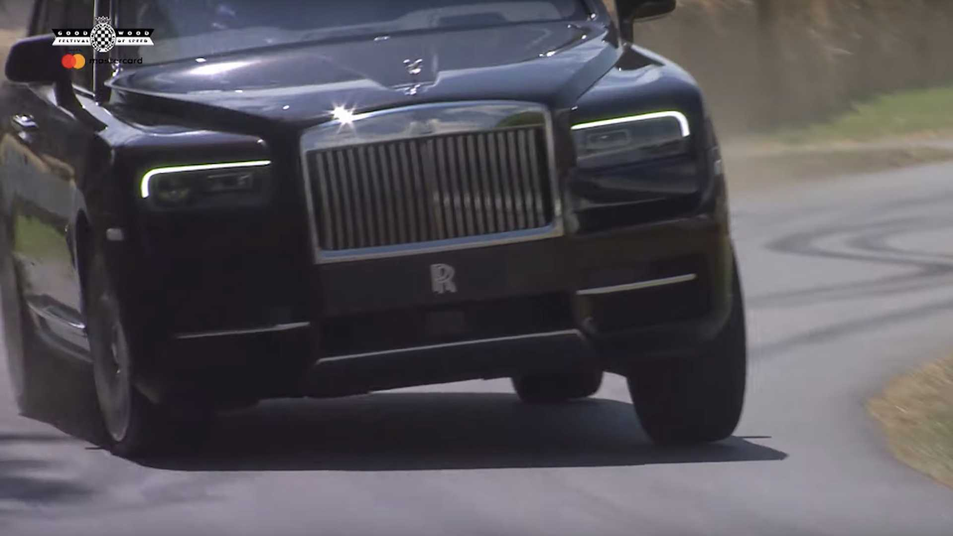Rolls-Royce Cullinan At 2019 Goodwood