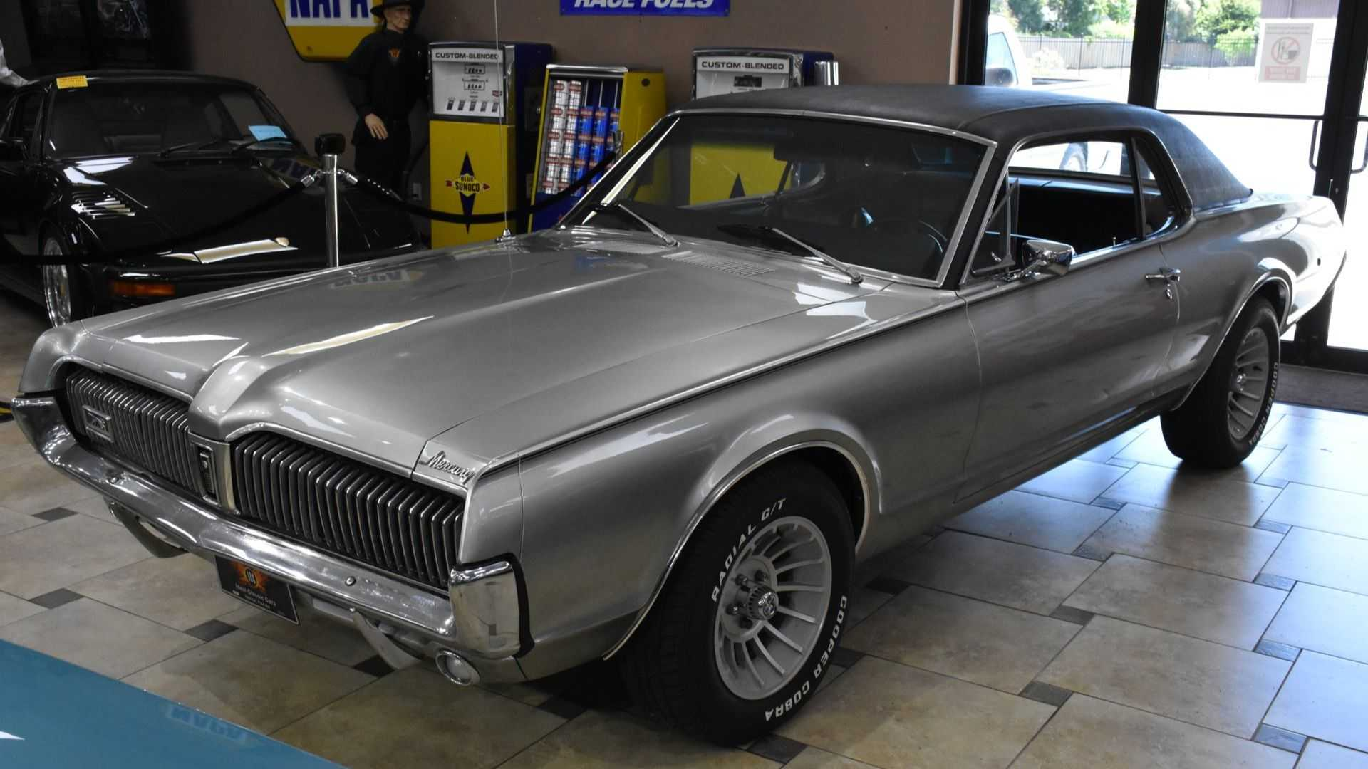 """[""""Smooth 1967 Mercury Cougar Has Claws Too""""]"""
