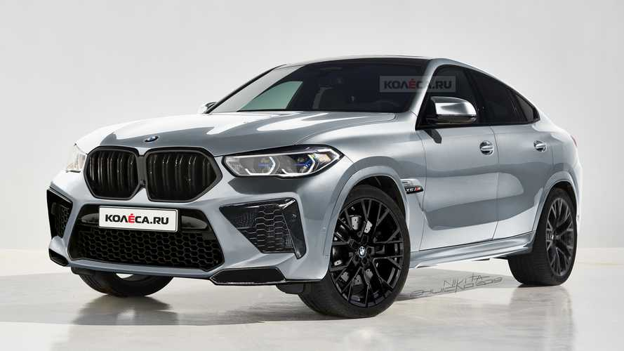 BMW X6 M renderings