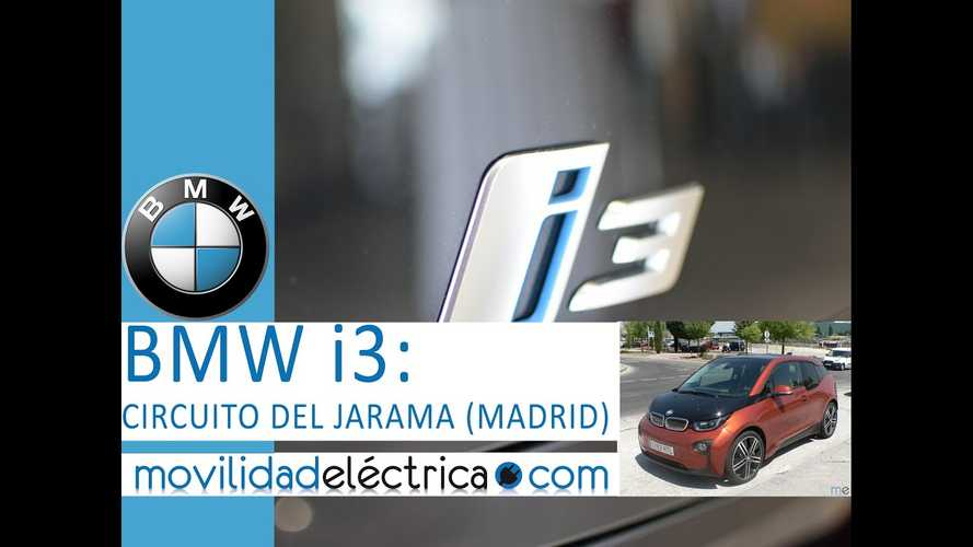 BMW i3 On Spanish Race Track - Video